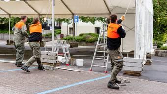 Zivilschutzdienstleistende im Aargau erhalten neu einen Flyer des Kantons.