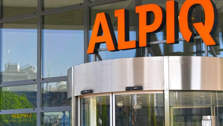 Konzernzentrale der Alpiq in Olten: Das Unternehmen erleidet einen Halbjahresverlust.