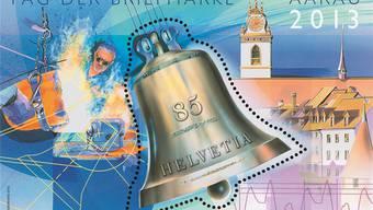Nach 75 Jahren gibt es endlich wieder einen Briefmarkenblock aus Aarau.