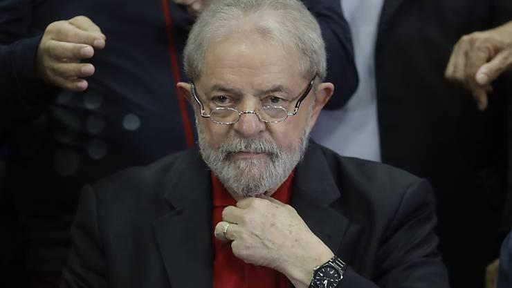 Nach seiner Verurteilung in einem Korruptionsskandal sind Vermögenswerte von Brasiliens Ex-Präsident Lula eingezogen worden. (Archiv)