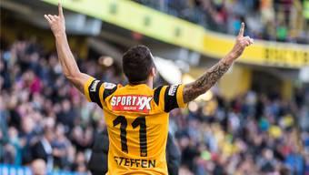 Oben angekommen: Nach zweieinhalb Jahren bei YB wechselt Renato Steffen zum Schweizer Ligakrösus FC Basel.