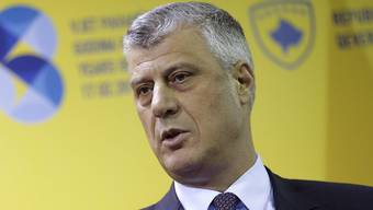 Nach einer turbulenten Wahl ist er der neue Präsident Kosovos: Hashim Thaci. (Archiv)