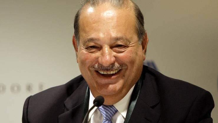 Der mexikanische Unternehmer (71) der Telekommunikationsbranche führt die Forbes-Liste der reichsten Menschen an.