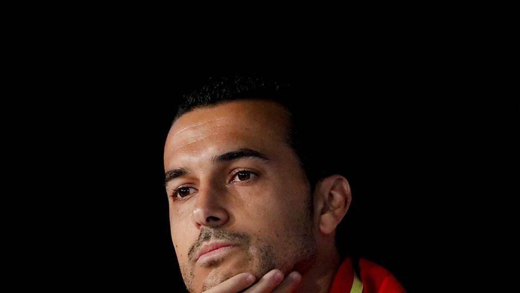 Pedro ist unzufrieden mit seiner Rolle in Frankreich