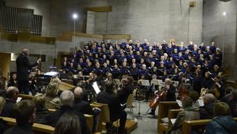 Der Konzertchor Leberberger unter Markus Oberholzer brillierte mit Haydn.