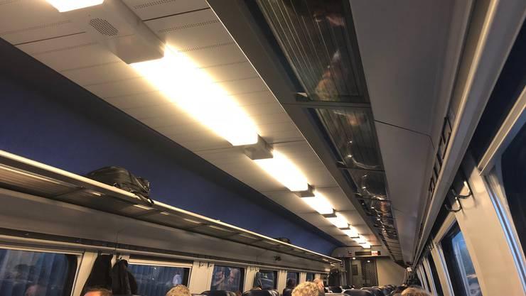 Zug kann nicht in Solothurn einfahren.