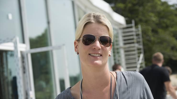 Andrea Schlumpf, Direktorin des Hotels.