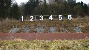 Das Kugelfangmaterial der Eigenämter Schiessanlage sorgt für Zündstoff. Symbolbild/Archiv