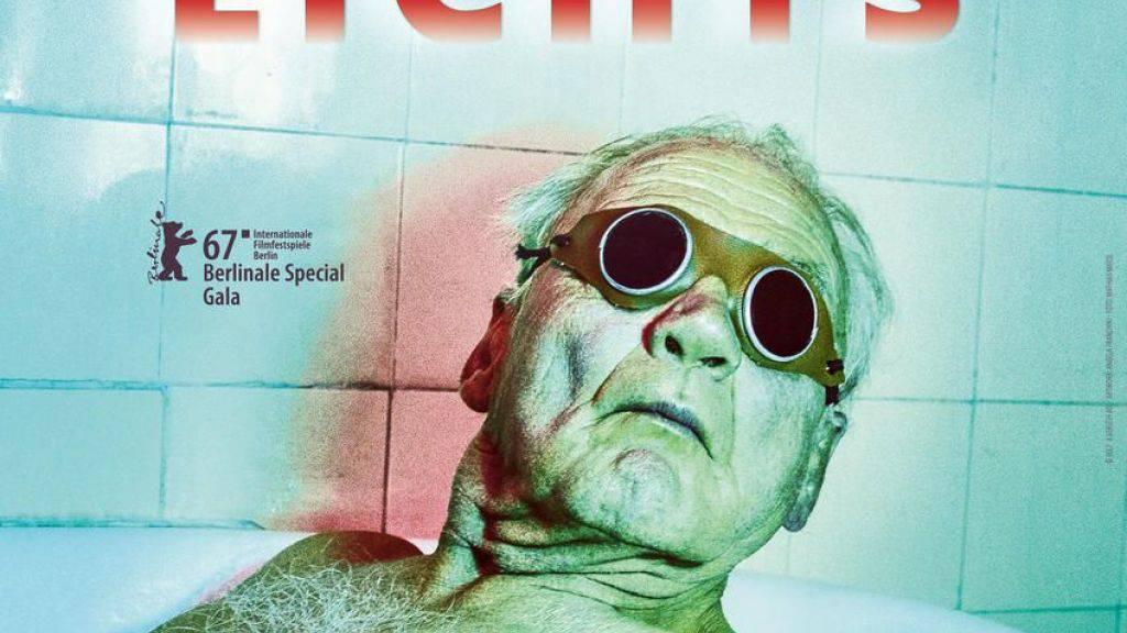 """Bruno Ganz - hier auf dem Plakat von """"In Zeiten des abnehmenden Lichts"""" - ist für den Deutschen Filmpreis nominiert. 1976 hatte er den Preis schon einmal gewonnen. (Handout)"""