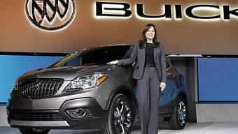 Harte Zeiten für ihr Unternehmen: GM-CEO Mary Barra (Archiv)