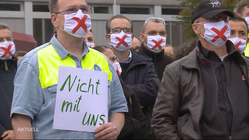 Kampf gegen Radikalabbau: Die GE-Mitarbeiter kämpfen im Aargau gegen den Kahlschlag