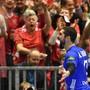 Nikola Karabatic freut sich riesig über den Siegtreffer