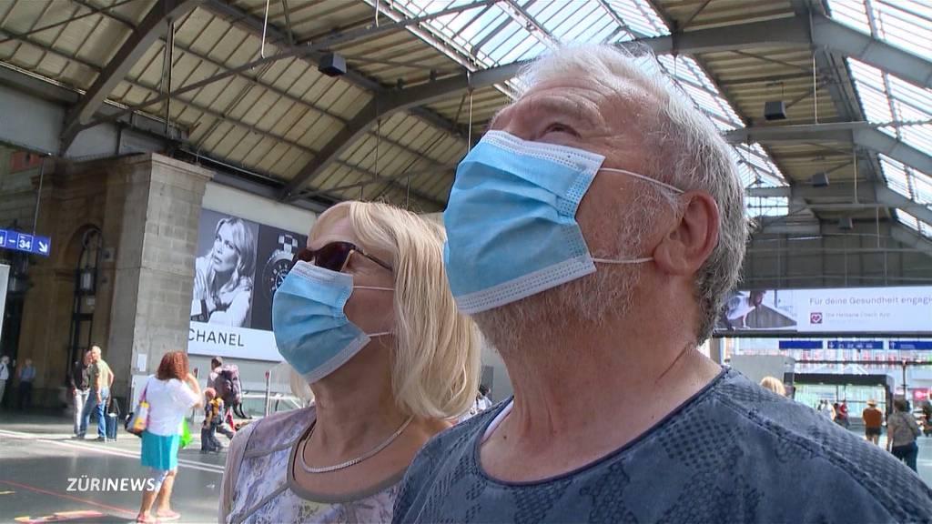 So reagiert Zürich auf die Maskenpflicht