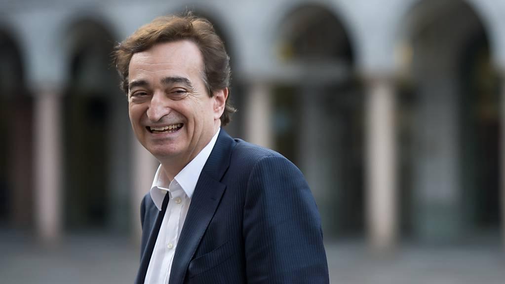 Der beim Volk äusserst beliebte Luganeser Sindaco Marco Borradori ist vergangenen Mittwoch nach einem Herzstillstand verstorben. (Archivbild)