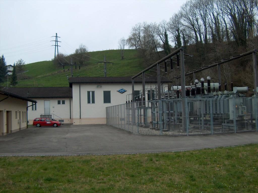 Es werden drei Unterwerke Goldach (SAK, im Bild), Arbon (EKT) und Rorschach abgebaut, da sie nicht mehr benötigt werden.