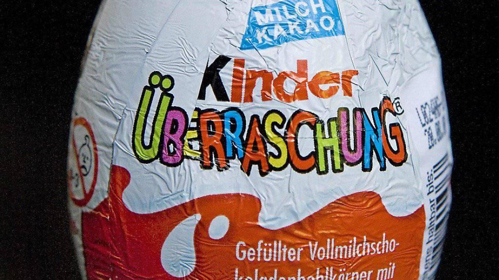 """Heieiei: """"Kinder-Überraschung""""-Hersteller Ferrero hat in Chile ausverkauft. (Archivbild)"""