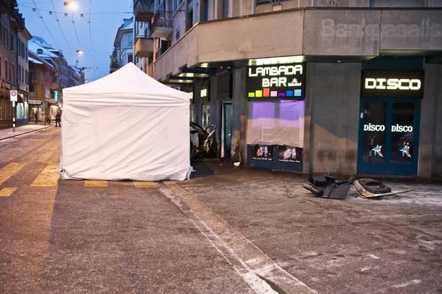 «Es gab mindestens einen Toten und mehrere Verletzte», sagt René Ruef, Sprecher der Stadtpolizei Zürich.