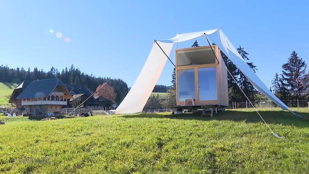 Haus auf Rädern: Neues Tourismus-Angebot im Emmental