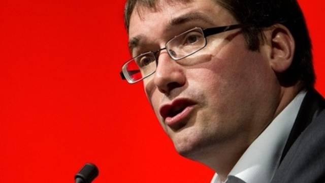 Im Amt bestätigt: SP-Präsident Christian Levrat