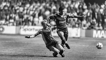 Fussballspieler des FC Aarau waren im Arbeitsleben nicht immer gerngesehen. (Archiv/Symbolbild)