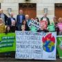 3550 Unterschriften sind für die Klimaschutz-Initiative zusammengekommen – gestern wurde sie eingereicht.