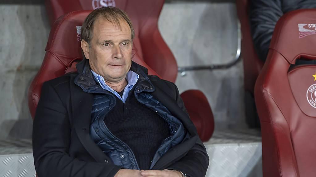 Trainer Alain Geiger bekommt es mit Servette zum Auftakt in die Qualifikation der Conference League mit Molde zu tun.