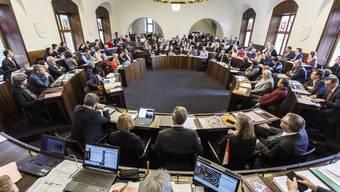 Der Kantonsrat wird tagen, nur nicht im Kantonsratssaal, denn hier ist es eng.