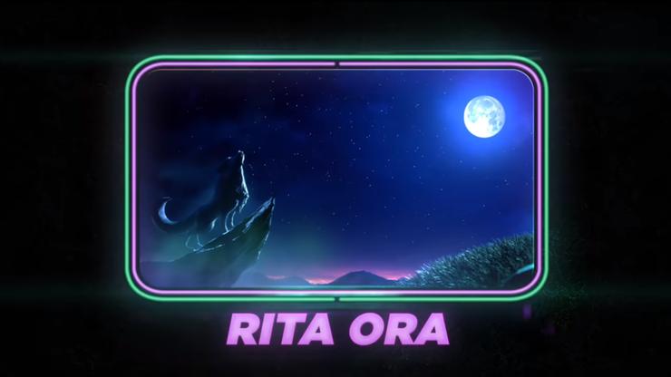 Rita Ora als Wolf