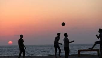Fussball am Gaza-Beach (Archiv)