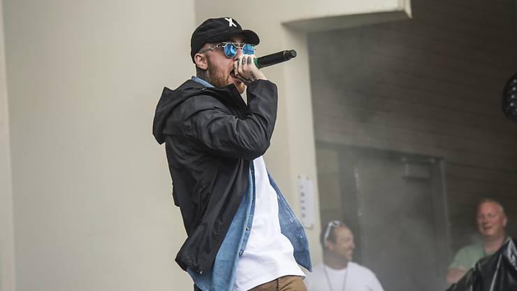 Der US-Rapper Mac Miller ist am Freitag überraschend ums Leben gekommen. (Archivbild)