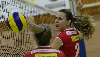 Kerley Becker (r.) und ihre Teamkolleginnen von Sm'Aesch Pfeffingen sind bereit für die Finalrunde.