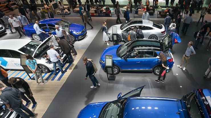 Auf dem europäischen Automarkt zeichnet sich eine sachte Erholung ab. (Archivbild)