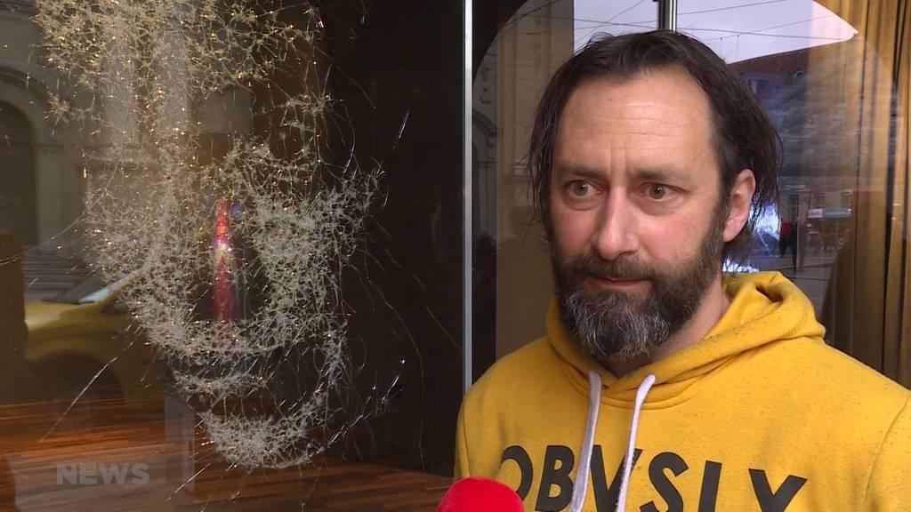 Schönheit in der Zerstörung: Schaufensterkunst aus Bern