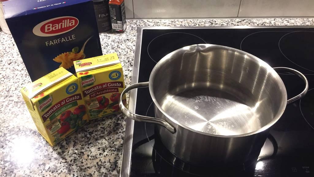 Die Tester: Pasta direkt in der Sauce garen