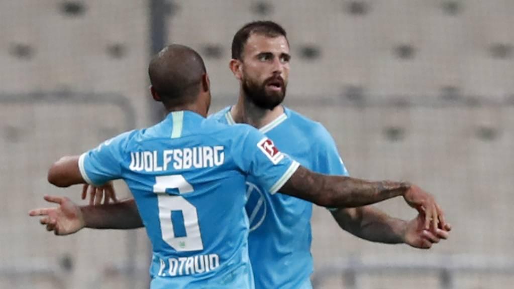 Admir Mehmedi feiert bei Wolfsburg den ersten Sieg in der Meisterschaft.