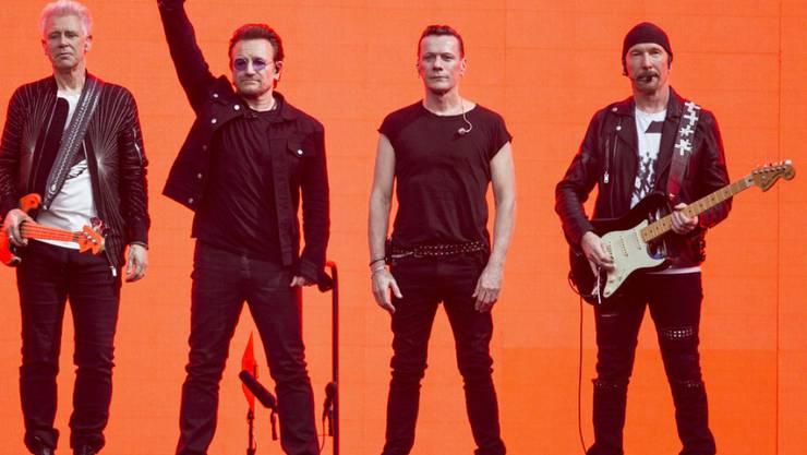 """Rühren eigentlich gerne mit der grossen Kelle an: Nun plant die irische Rockband U2 eine """"intime Show"""" im Apollo Theater in New York. (Archivbild)"""