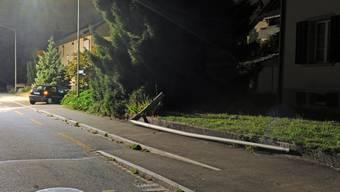 Verkehrsunfall in Wangen-Brüttisellen