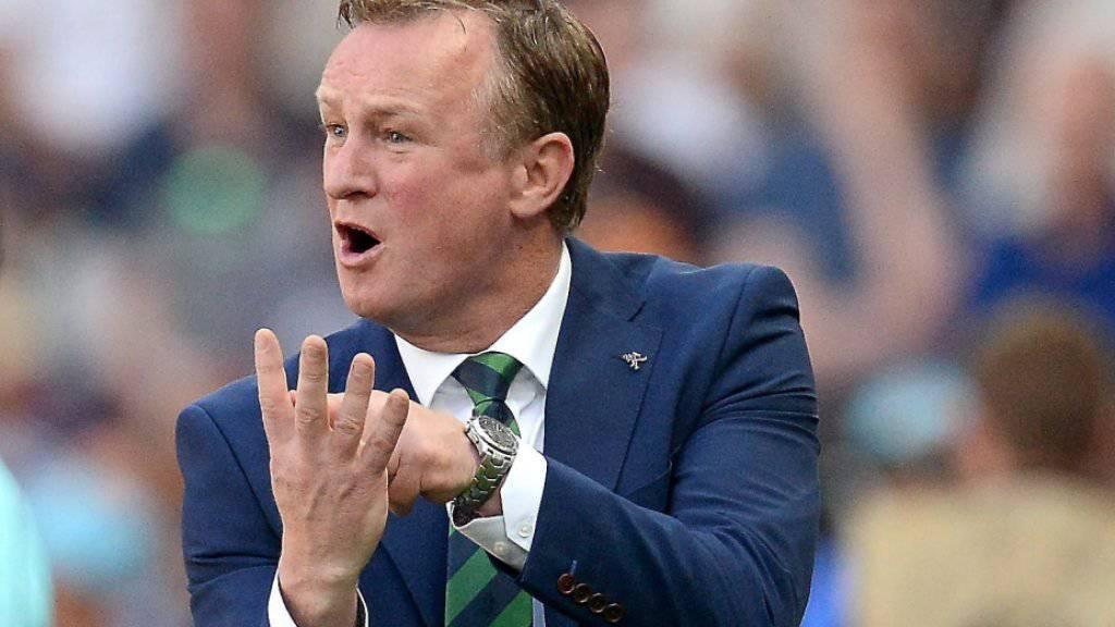 Unter Coach Michael O'Neill reitet Nordirland auf einer Erfolgswelle