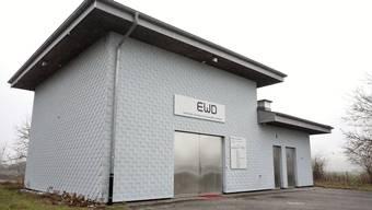Das Pumpwerk Ruchacker gehört der EWD und dem ZWäW gemeinsam.