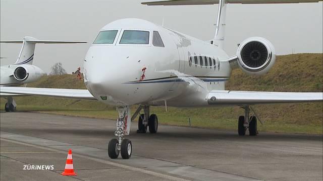 Flugplatzgemeinden kämpfen verzweifelt gegen Business-Jets