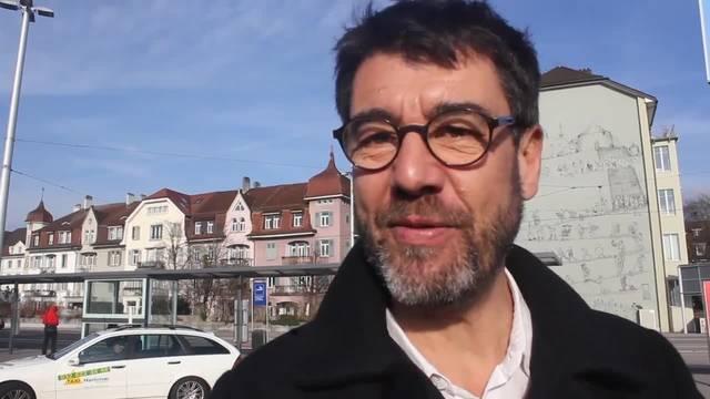 Regisseur Fernand Melgar erzählt, dass er an diesen Filmtagen zum ersten Mal ein sonniges Solothurn erlebt.