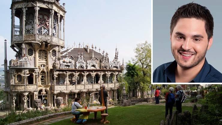 Cédric Wermuth will den Skulpturenpark retten.