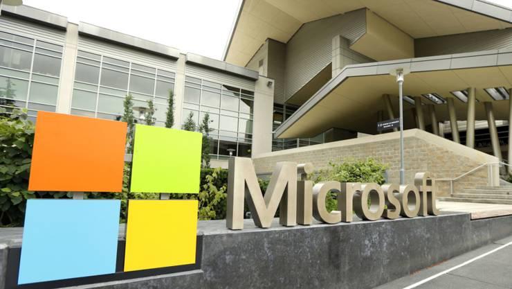 Auf die E-Mail-Angebote von Microsoft hat es einen Angriff gegeben. (Archivbild)