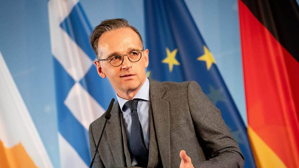 Der deutsche Aussenminister Heiko Maas bedauert, dass die USA aus dem Open-Skies-Vertrag aussteigen wollen. (Archivbild)
