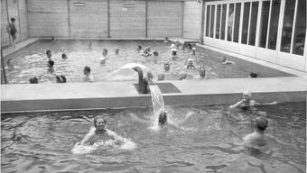 Die Thermalquelle wurde vor 60 Jahren erbohrt. Historische Bilder