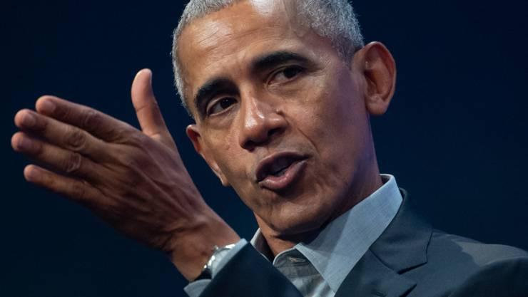 ARCHIV - Hat die Regierung seines Nachfolgers Donald Trump scharf kritisiert: der ehemalige US-Präsident Barack Obama. Foto: Sven Hoppe/dpa