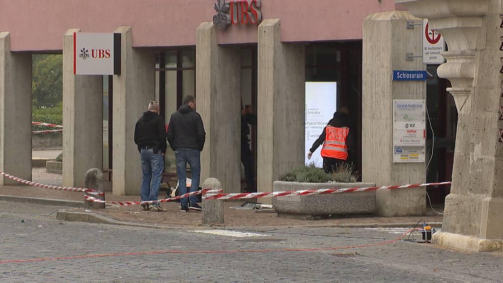 Bankomat in Bern gesprengt