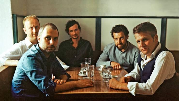 Mauro Guarise, Urs Müller, Kuno Studer, Andreas Schnellmann, Arno Troxler. ho
