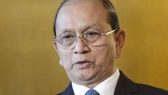 Der burmesische Präsident Thein Sein (Archiv)