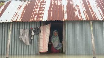 Tote und Tausende ohne Obdach nach Monsunregen in Südasien
